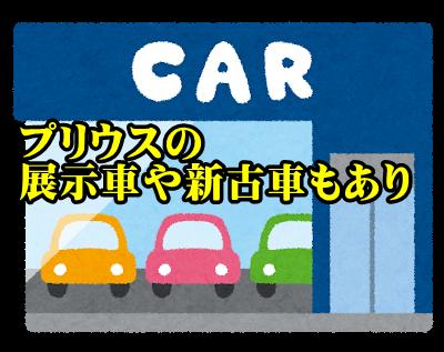 展示車や新古車(中古車)